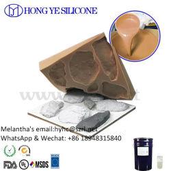 Rtv-2 het Rubber van het silicone voor het Maken van de Vorm van de Producten van de Steen (HY630)