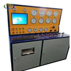 Dn400 Terek Computer Control NEUMÁTICO Válvula de alivio de la seguridad banco de pruebas de equipos de la máquina fabricante de válvulas