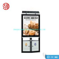 Установленный блок освещения открытый двойной стороны Lightbox солнечной энергии и корзину лоток для рекламы