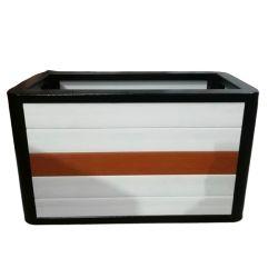 カスタマイズされたカラーおよびガラス繊維の物質的で装飾的な庭の壷