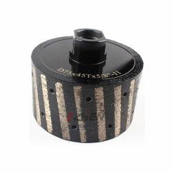 2, 3 дюймовый нулевой терпимости полимера заполнены Diamond барабан колеса/ профиль для барабана на складе снятие с M 14, 5/8-11 поток