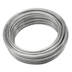 Revestido de zinco Guy galvanizado fio permanecer fio fio entrançado de aço