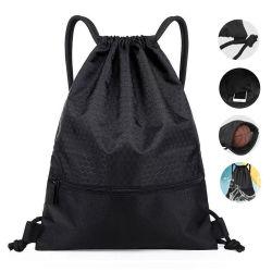 Дешевые высокое количество 1680d из переработанных материалов для тяжелого режима работы нейлоновые кулиской рюкзак сумка