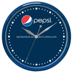 La publicidad de promoción de 10 pulgadas de reloj de pared de plástico como regalo