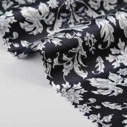 服のデジタル印刷のための75Dによって印刷されるポリエステルサテンファブリック