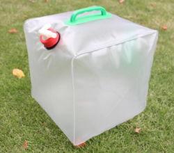 Benna di plastica portatile piegante esterna del sacchetto di acqua 20L