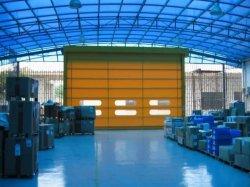 Conservazione frigorifera del gruppo di lavoro del magazzino della fabbrica che rotola la plastica automatica automatica antivento del PVC di alta velocità di industria di obbligazione che piega sul portello d'impilamento industriale