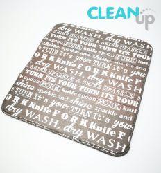 Uso da cozinha Prato de microfibras Tapete de secagem / Cup Mat