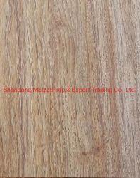 La prensa caliente / sólida madera impregnada con resina de melamina melamina Laminado Decorativo / papel con cola para laminación de MDF
