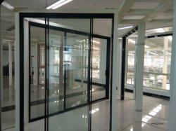 Trois portes coulissantes en aluminium