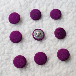 Bouton Taffta couverts de tissu en nylon avec 9mm, échantillons gratuits