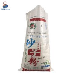Venda por grosso de farinha de açúcar de embalagem de sacos de ráfia de arroz