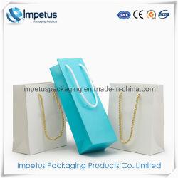 Förderung-kleine Handtaschen-Geschenk-Einkaufen-Luxuxschmucksache-verpackender Papierbeutel mit Ihrem eigenen Firmenzeichen-Drucken