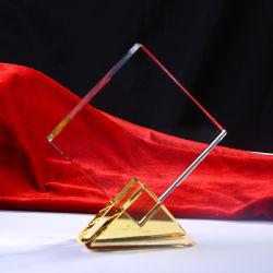 K9 хрустальное стекло трофей для полей для гольфа спорта