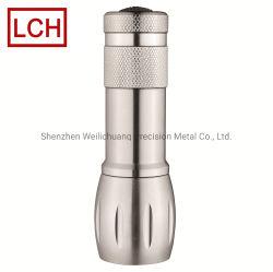 Самый дешевый из титана светодиодный фонарик детали ЧПУ обработки/механизма/обработанной детали