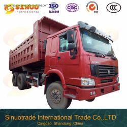 Verwendete Kipper mit 10 LKW-China-Lastkraftwagen- mit Kippvorrichtungmittlerer Aufzug-bestem Zustands-konkurrenzfähiger Preis-heißem Verkauf der Rad-6X4 HOWO Hochleistungs-bei Afrika
