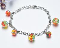 Bracelet Fashion 2017 nouvelle conception de Bijoux Bijoux en Verre de Murano bracelets pour les hommes