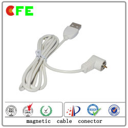 Conector de carregamento magnético impermeável de 1 pino para produtos elétricos