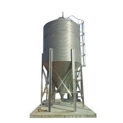 Más espacio disponible 1000 toneladas de acero de grano de la tolva de alimentación de calidad silo para la harina de trigo arroz