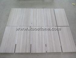 Legno bianco/grigio di alta qualità venato il marmo per il pavimento