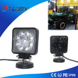 4 des Zoll-LED Punkt-Arbeitslicht Auto-der Beleuchtung-27W LED