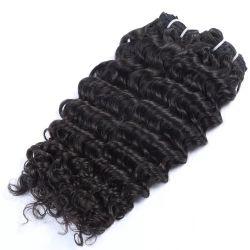 Шелковистая прямо на складе цвета Natral Индийского Реми человеческого волоса Weft