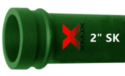 La bomba de remolque de tubería sin costura con brida Sk