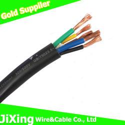 PVC cavo flessibile di rame elettrico/elettrico di Insulation&Sheath di collegare