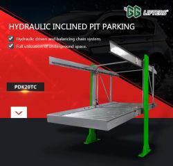 Гидравлический подземных 2-3 уровнях автостоянка для системы хранения данных автомобилей