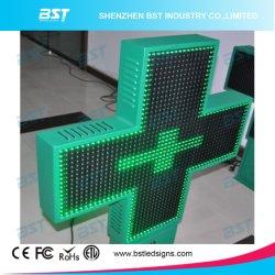 P14 Outdoor dubbel gezicht Groen Pharmacy LED Cross Display