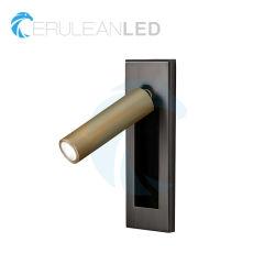 Interruptor de embutidos de alta qualidade personalizada Quarto de hotel lâmpada LED de leitura de cabeceira