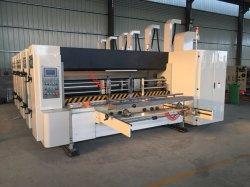 工場価格4カラー型抜き機械に細長い穴をつける高速Flexoの印刷