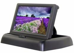 4.3Inch Flip Vista trasera del coche de copia de seguridad LCD Monitor