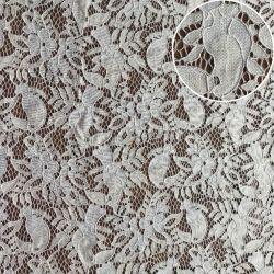 Нейлоновые хлопчатобумажной ткани шнур кружевной ткани хлопок кружева для платья (M3490-G)