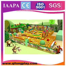 New Kids Play Station Hot Sale SGS Terrain de jeux intérieur