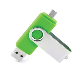 2 En1 Pen Drive en vrac de 128 Mo 2G 2 Go de mémoire à double port USB2.0 Memoria Stick Pendrive Android 2 à 1 lecteurs Flash USB Driver pour Mobile