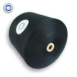 100 percentagem de fibras de poliéster bonderizado Ne 62/3 Tingidos de cor