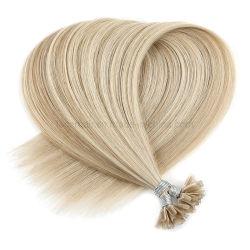La mejor calidad humana de la punta me bonos Pre Remy Hair Extension hacia el real brasileño el cabello natural