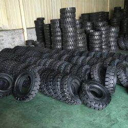 Carro pneu sólido 1.5T Empilhadeiras duplo 6,50-10 5.00-8 6.00-9 28*9-15 Pneus sólidos