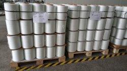 Het hete Verkoop Texturized Garen van de Glasvezel van het Zwerven van de Behandeling Witte Stevige Bulk