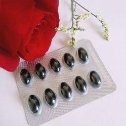 Huile de graines noir Capsule fabrique Groseille Cumin Noir Essencial Huile Capsule pour femme