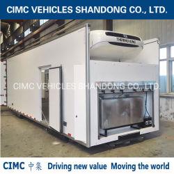 Vendre des camions frigorifiques Cimc Hot Box avec un Thermo King réfrigérateur pour la crème glacée