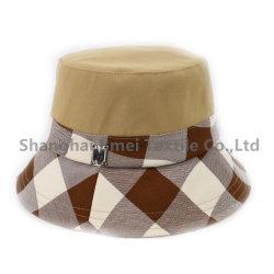 OEM 서비스 고품질 사용자 지정 양면 인쇄 패턴 피셔맨 캡 버켓 모자