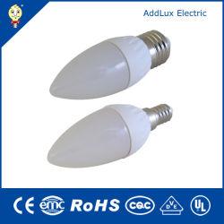 E14 E27 B22 E26 3W da Lâmpada da Luz da Lâmpada Vela LED fabricado na China para bar, sala de estar, Kithchen, Cama, Sala de Jantar de iluminação Melhor fábrica do Distribuidor