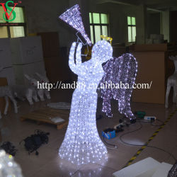 LED de luz da decoração do Festival Angel