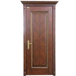 Oppein Antique Walnut folheado de madeira Single portas interiores (MSGD21)