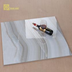 2018 Nuevos Productos de azulejos de porcelana pulida como mármol en China