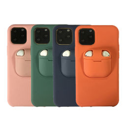 2 in 1 Geval van de Telefoon voor iPhone 11 PRO voor Airpods, Dekking van de Telefoon van het Silicium van de Houder van de Oortelefoon de Mobiele