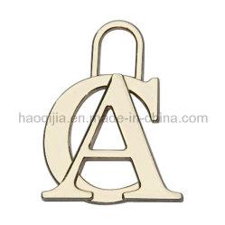 Moda pendente pendente letra acessórios de vestuário Pingentes de Metal
