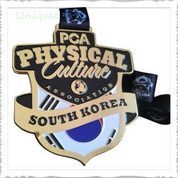 Commerce de gros de produits de la Corée personnalisé Metal Crafts Carnival emblème Big Trophy Sports des médailles pour cadeau promotionnel